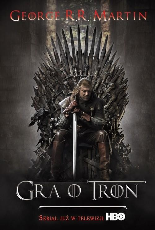 okładka Gra o tron, Książka | R.R. Martin George