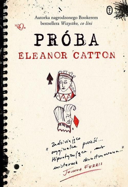okładka Próba, Książka | Eleanor Catton
