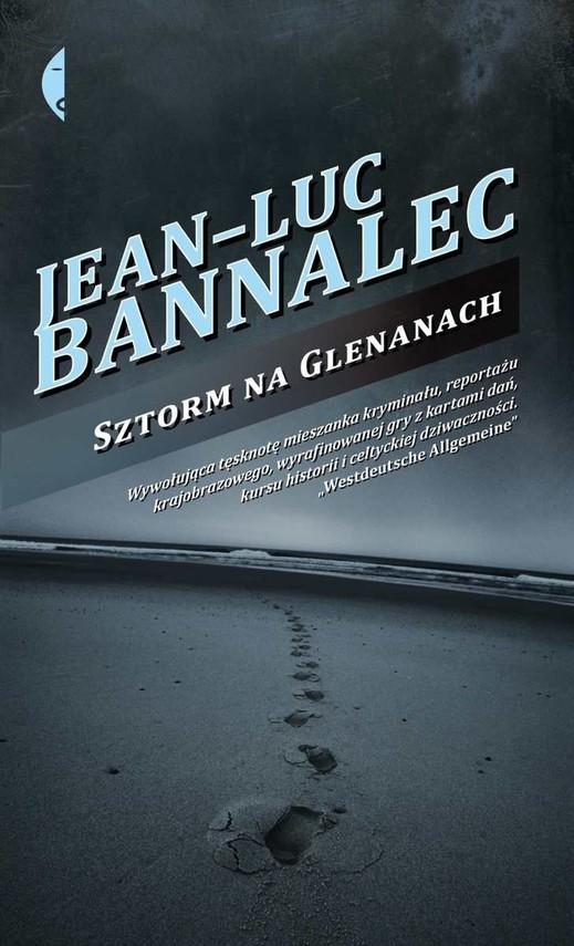 okładka Sztorm na Glenanach, Książka   Jean-Luc Bannalec