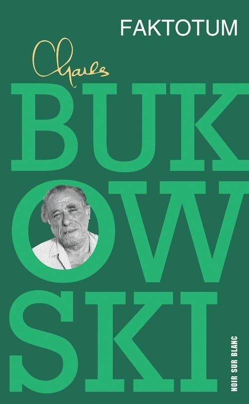 okładka Faktotum, Książka | Charles Bukowski