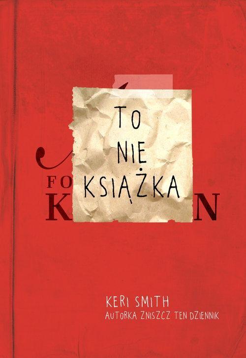 okładka To nie książka , Książka | Smith Keri
