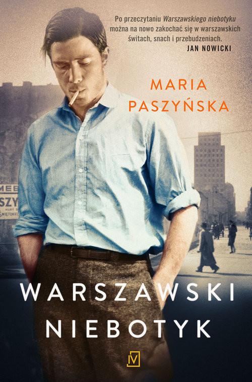 okładka Warszawski Niebotyk, Książka   Maria  Paszyńska