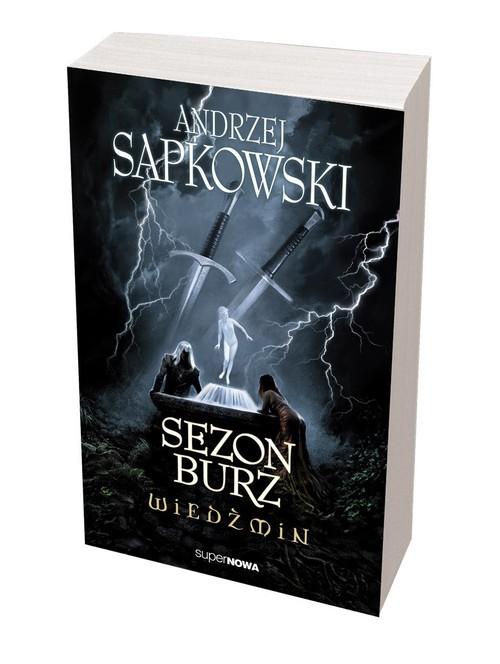 okładka Wiedźmin. Sezon burz książka |  | Sapkowski Andrzej