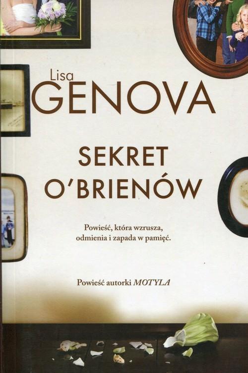 okładka Sekret O'Brienów, Książka | Genova Lisa