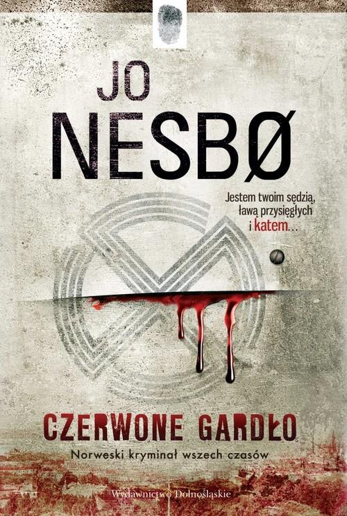 okładka Czerwone gardło, Książka | Jo Nesbø