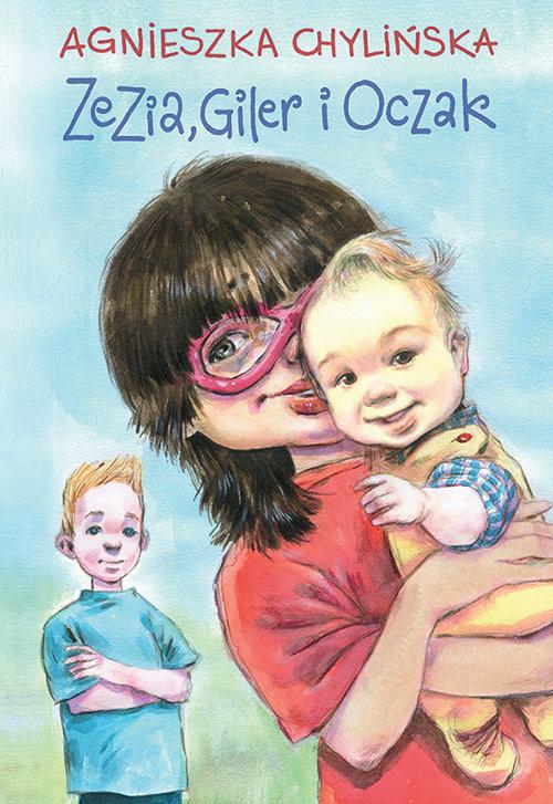 okładka Zezia, Giler i Oczakksiążka      Chylińska Agnieszka