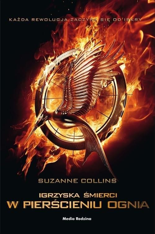 okładka Igrzyska śmierci. W pierścieniu ognia , Książka | Collins Suzanne
