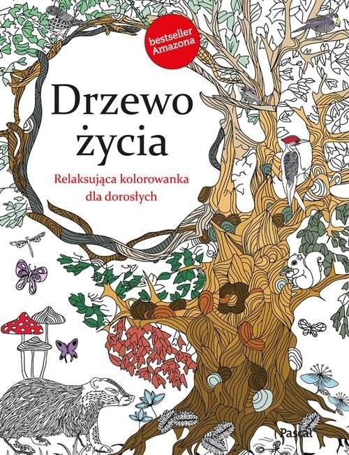 okładka Drzewo życia. Relaksująca kolorowanka dla dorosłych, Książka | Rose Christina