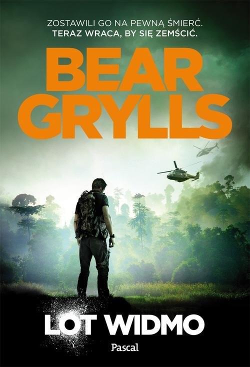 okładka Lot widmo, Książka | Bear Grylls