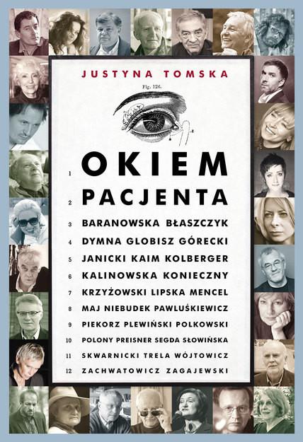 okładka Okiem pacjentaksiążka      Tomska Justyna