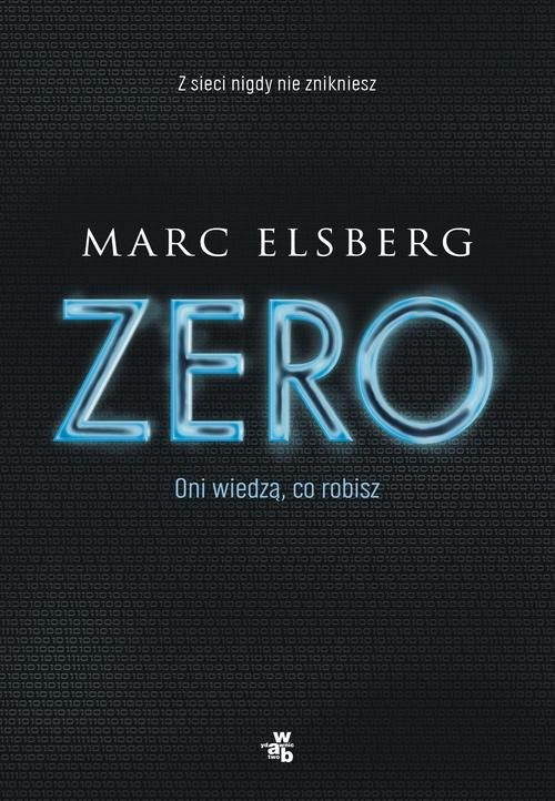 okładka Zero, Książka   Elsberg Marc