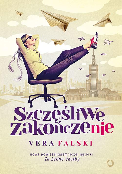 okładka Szczęśliwe zakończenie, Książka   Vera Falski