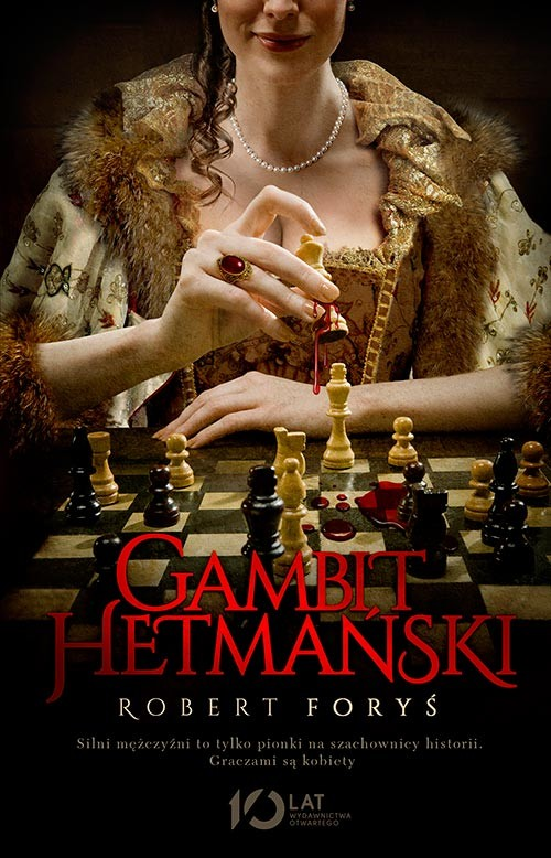 okładka Gambit hetmański, Książka | Robert Foryś