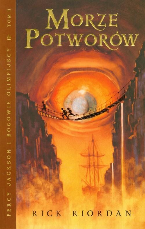 okładka Morze potworów. Percy Jackson i bogowie olimpijscy. Tom 2, Książka | Riordan Rick