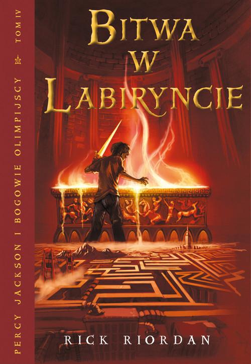 okładka Bitwa w Labiryncie. Tom 4, Książka | Riordan Rick