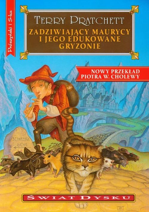 okładka Zadziwiający Maurycy i jego edukowane gryzonie. Świat dyskuksiążka |  | Pratchett Terry