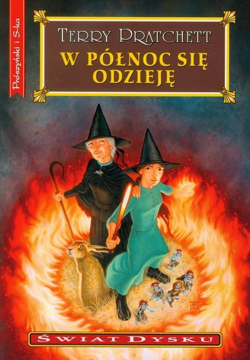 okładka W północ się odziejęksiążka      Pratchett Terry