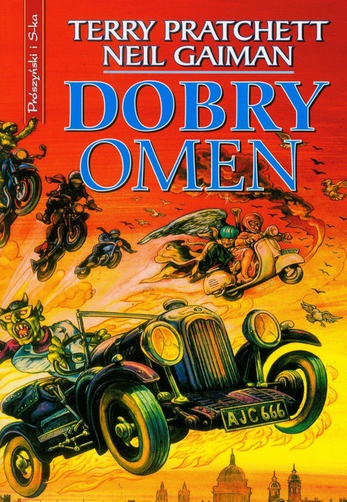 okładka Dobry omenksiążka |  | Pratchett Terry, Gaiman Neil