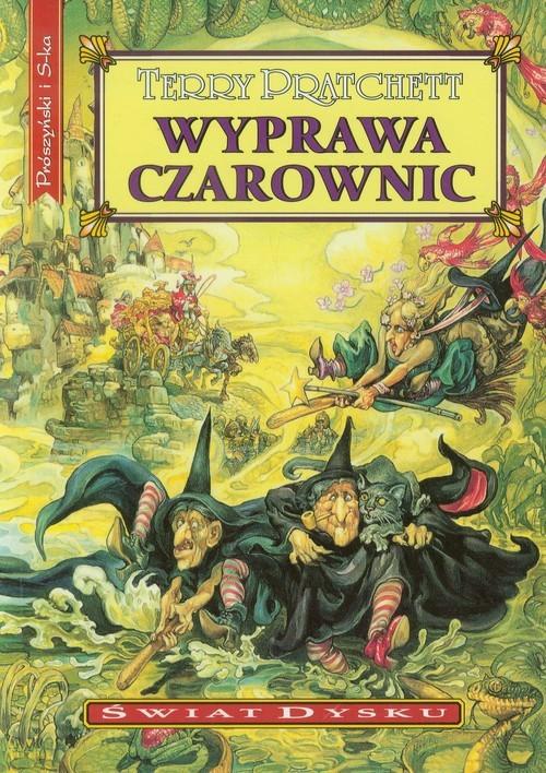 okładka Wyprawa czarownic, Książka | Terry Pratchett