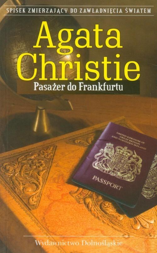 okładka Pasażer do Frankfurtu, Książka | Agatha Christie