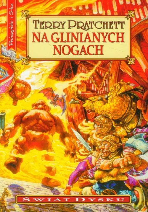 okładka Na glinianych nogach, Książka | Terry Pratchett
