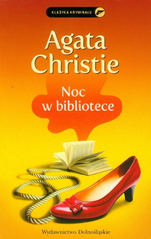 okładka Noc w bibliotece, Książka | Agatha Christie