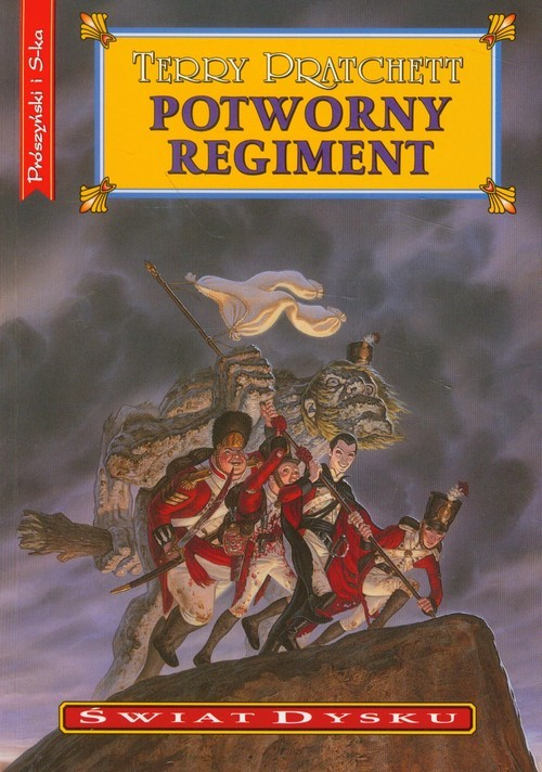okładka Potworny regimentksiążka      Pratchett Terry