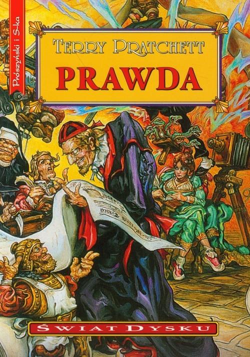 okładka Prawdaksiążka      Terry Pratchett