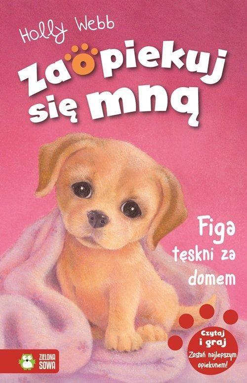 okładka Figa tęskni za domem, Książka | Holly Webb
