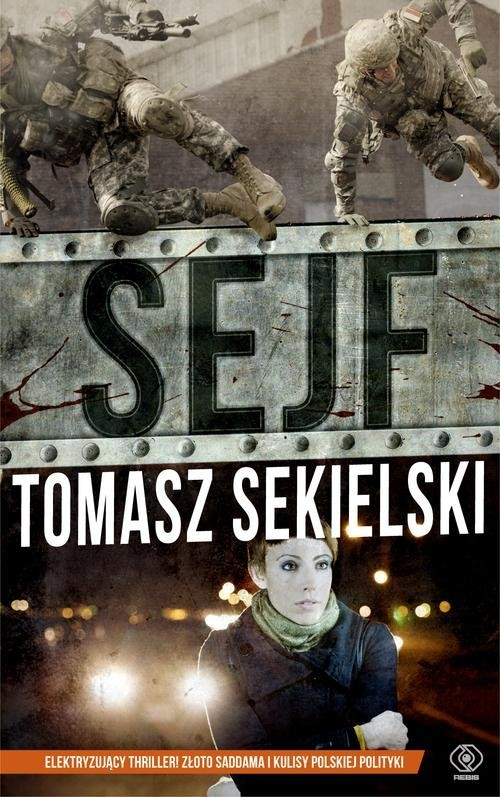 okładka Sejf, Książka | Sekielski Tomasz