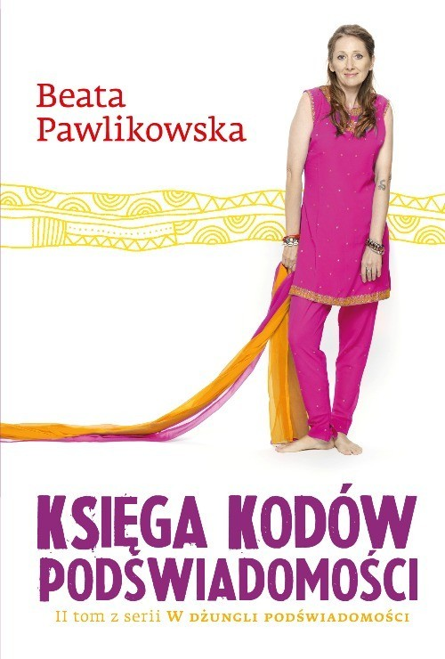 okładka Księga kodów podświadomości, Książka | Beata Pawlikowska