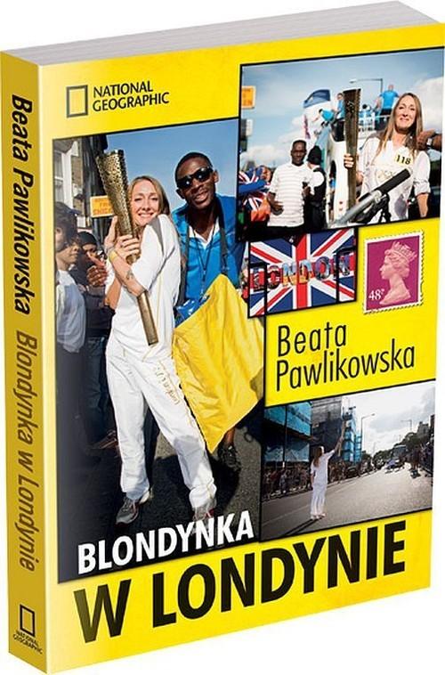 okładka Blondynka w Londynie, Książka | Beata Pawlikowska