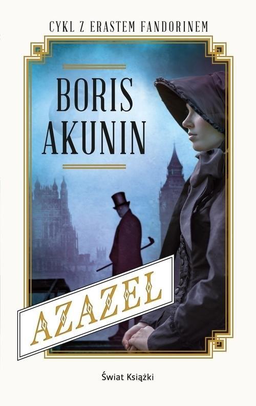 okładka Azazel, Książka | Boris Akunin