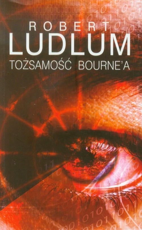 okładka Tożsamość Bourne'a, Książka | Robert Ludlum