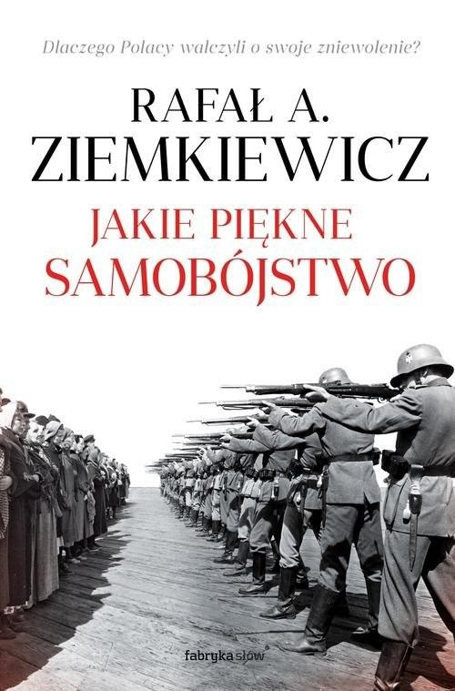 okładka Jakie piękne samobójstwo, Książka   A. Ziemkiewicz Rafał