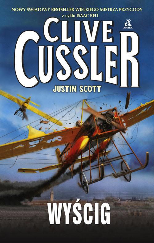 okładka Wyścig, Książka   Cussler Clive, Scott Justin
