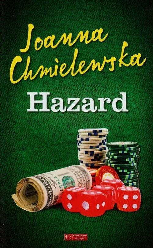 okładka Hazard, Książka | Chmielewska Joanna