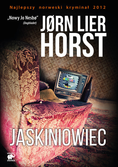 okładka Jaskiniowiec, Książka | Lier Horst Jorn