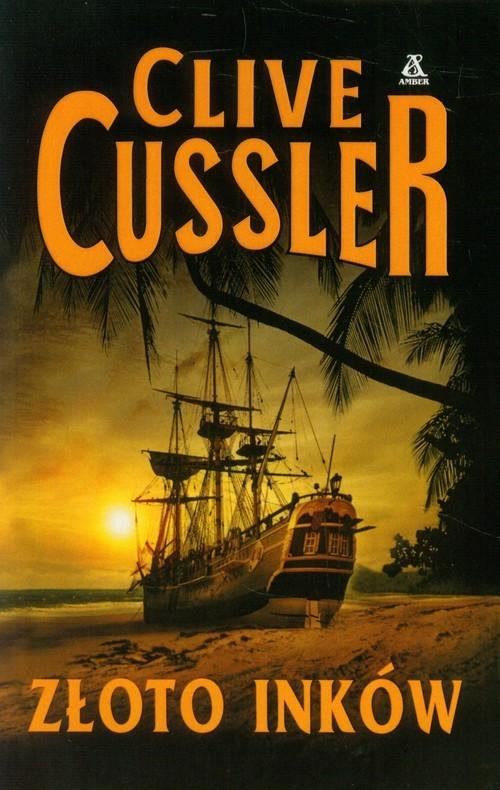 okładka Złoto Inków, Książka   Cussler Clive