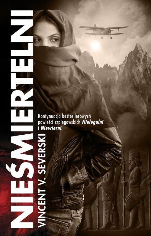 okładka Nieśmiertelni, Książka | V. Severski Vincent