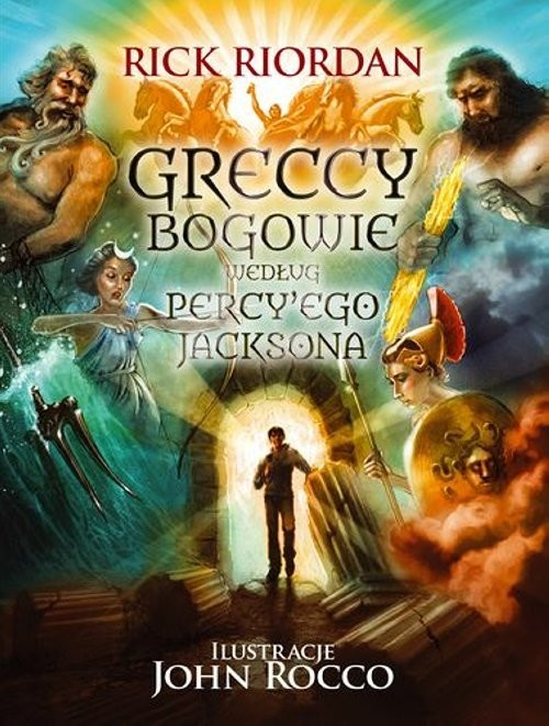 okładka Percy Jackson. Greccy bogowie, Książka | Riordan Rick