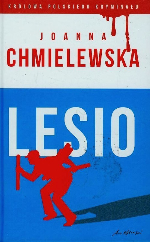 okładka Lesio, Książka   Chmielewska Joanna