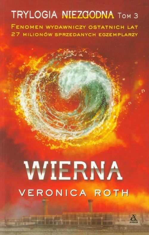 okładka Wierna, Książka | Roth Veronica