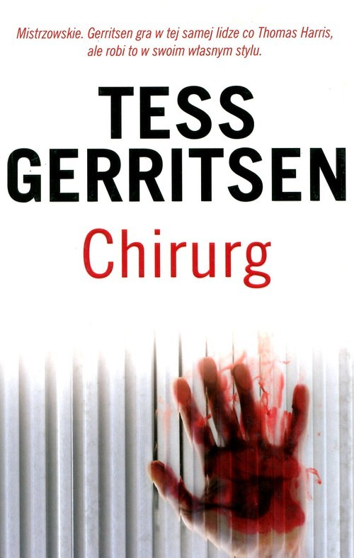 okładka Chirurgksiążka      Tess Gerritsen