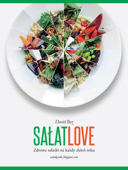 okładka Sałat Love, Książka | Bez David