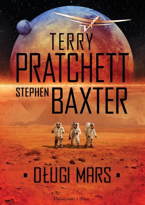 okładka Długi Mars, Książka | Stephen Baxter, Terry Pratchett