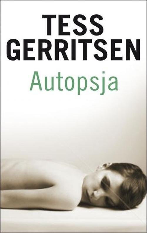 okładka Autopsja, Książka | Tess Gerritsen