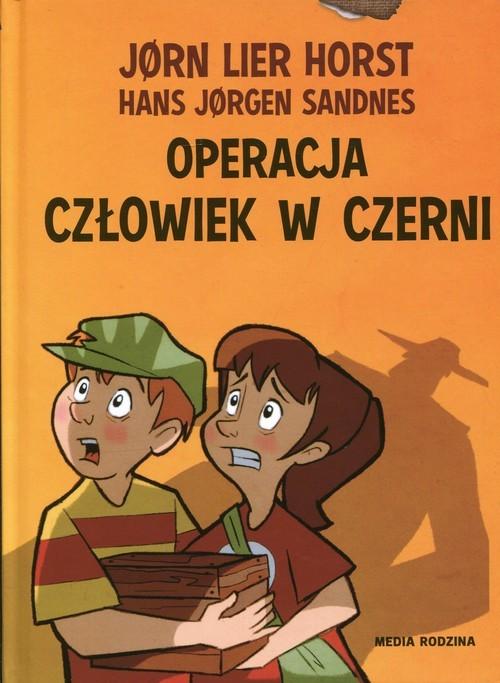 okładka Operacja Człowiek w czerni, Książka | Lier Horst Jorn