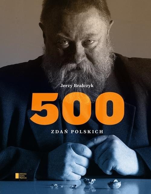 okładka 500 zdań polskichksiążka      Bralczyk Jerzy