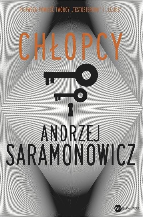 okładka Chłopcy, Książka | Andrzej Saramonowicz